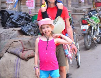 Family Photo shoot in Old Delhi