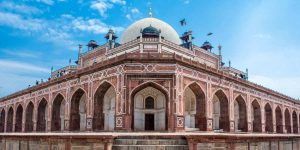 Photo tour in Humayun's Tomb, New Delhi
