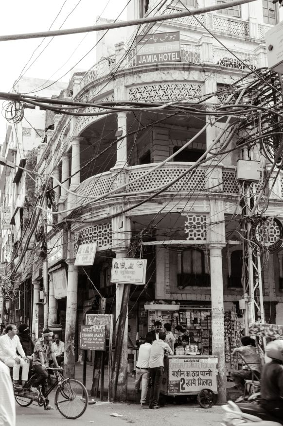 Old building in Chawari Bazaar