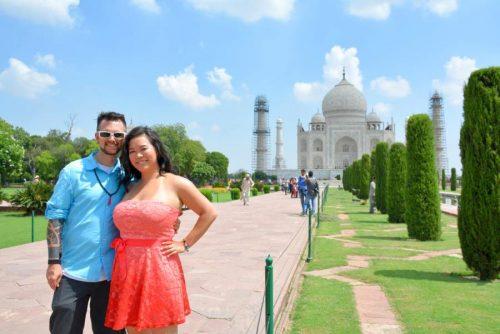 Taj Mahal Photo Shoot For Couples