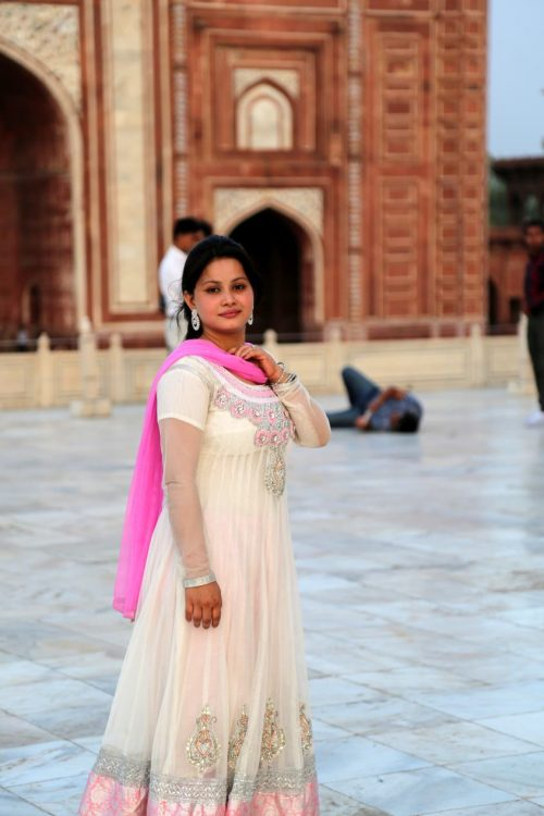 Taj Mahal photography shoot