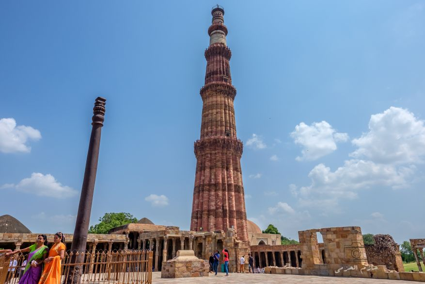 Qutub minar and Iron Pillar