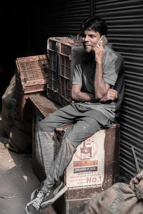 Old Delhi street photography tour Bob Costall